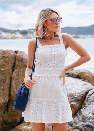 Vestido white bianca