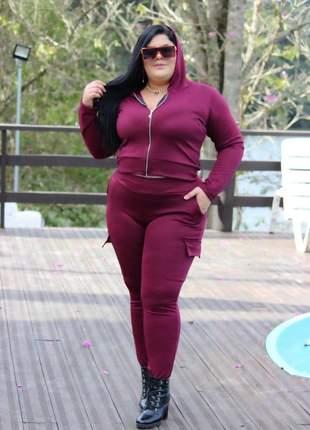Conjunto ponto roma moda plus size