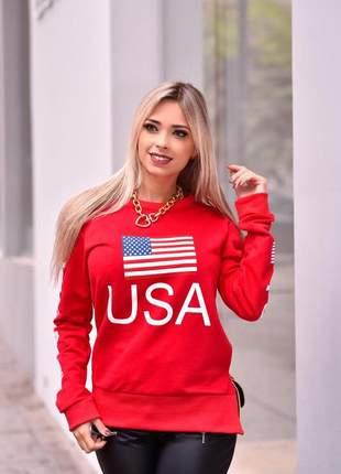 Blusa usa red
