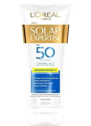 Protetor solar expertise supreme protect 4 fps 50 l'oréal paris 120ml