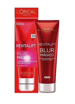 Creme facial revitalift blur mágico alisador instantâneo l'oréal paris 30ml