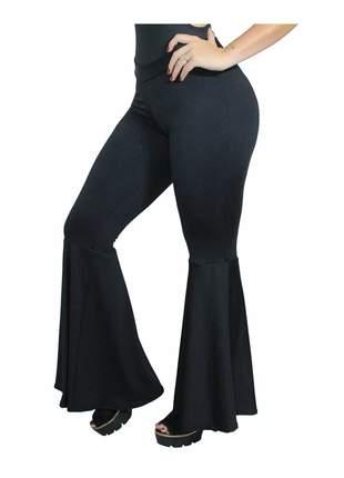 Calça legging moda super flare elegante charmosa entrega imediata