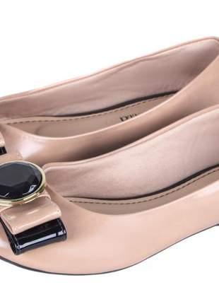 Sapatilha feminina luxo confort pedraria