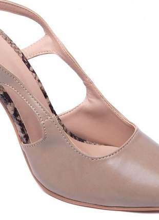 Sapato scarpin animal print