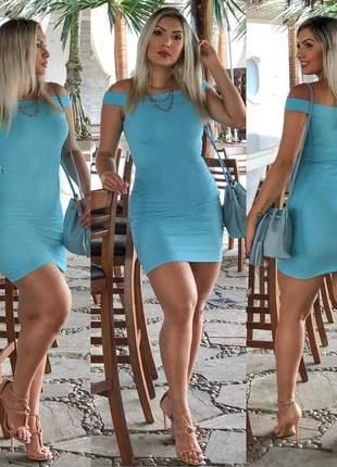 Vestido canelado gola canoa  -  vestidos de festa ref 4523
