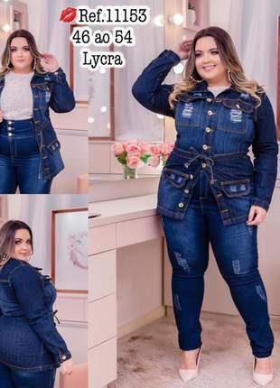Parka jeans plus size