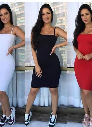 Vestido tubinho moda blogueira e instagram kylie ref 031