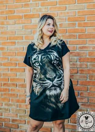 Vestido festa curto plus size malha ref 7654 #blackfriday