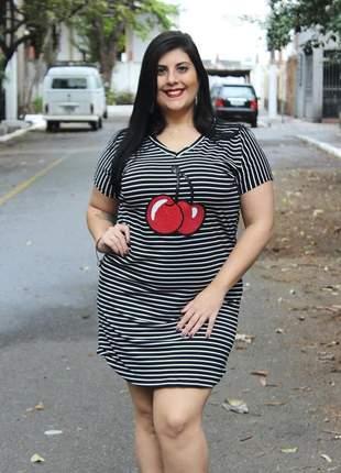 Vestido plus size - moda plus size - veste grande ref 5311