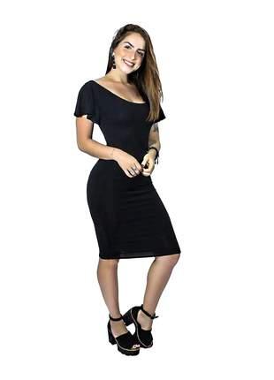 Vestido feminino social moda manguinha solta charmosa entrega imediata