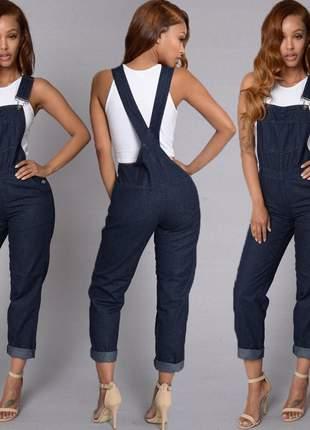 Macacão longo jeans