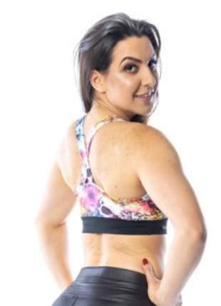 Top fitness feminino caveira mexicana
