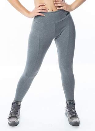 Calça legging montaria cinza
