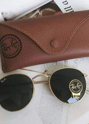 Óculos de sol redondo rayban