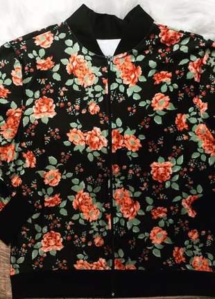 Jaqueta feminina moda plus size