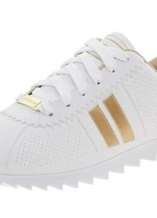 Tenis feminino casual moleca moving tratorado branco/dourado.