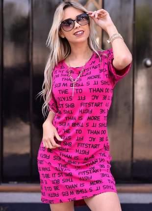 Mini vest do momento - pink