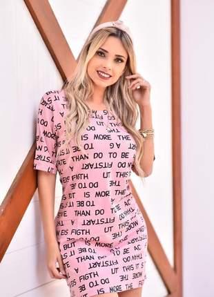 Mini vest do momento - rosé