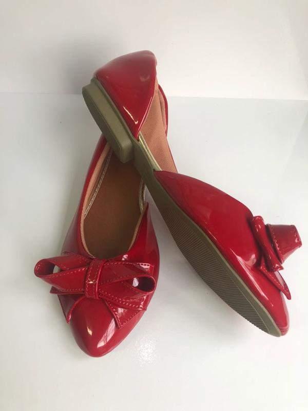 67dcd4d2a Sapatilha vermelha verniz. linda e delicada - R$ 24.90 (confortáveis ...