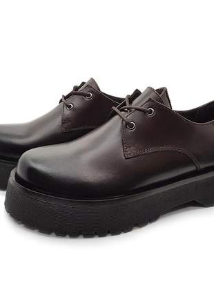 Sapato couro sola plataforma tratorada avalon rosaspark cores