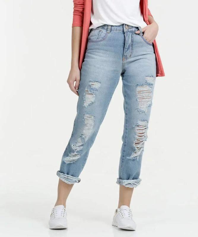 fde7e6de7 Calça feminina jeans cigarrete lançamento biotipo 2019 - R$ 139.00 ...