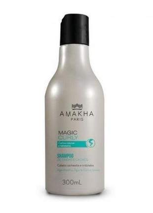 Shampoo de ondas e cachos - magic curly - 300ml amakha paris