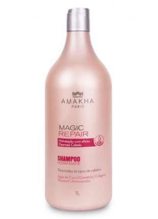 Shampoo hidratante magic repair 1l amakha paris