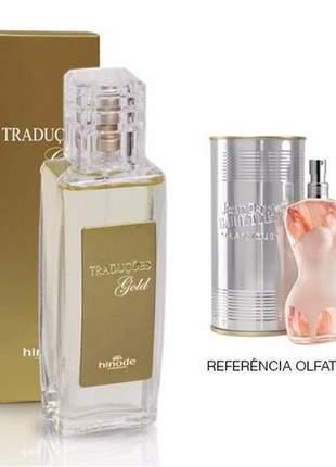 Perfume traduções gold nº 23 jpg classique -100 ml