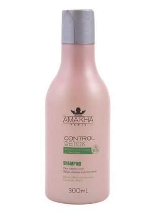 Control detox shampoo cabelos oleosos 300ml amakha paris