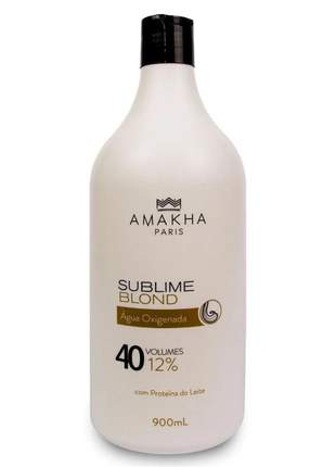 Água oxigenada 40 vol. sublime blond 900 ml
