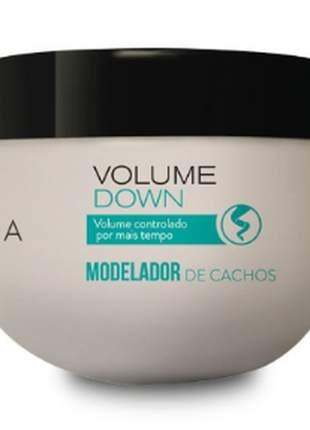 Creme modelador de cachos volume down - 300 g amakha paris