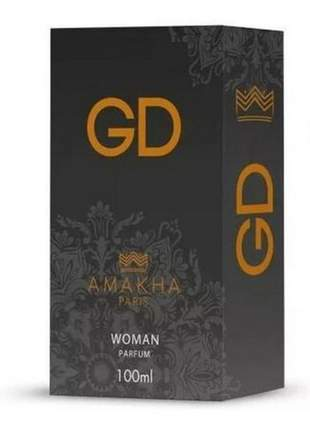 Gd - perfume feminino - 100ml amakha paris