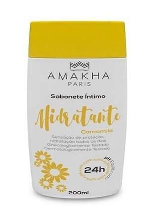 Sabonete íntimo hidratante camomila 200 ml amakha paris