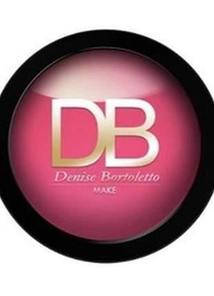 Sombra compacta uno alto brilho rosa pink brilhante 2g amakha paris