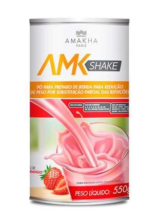 Amk shake 550g redução de peso e substituição do alimento