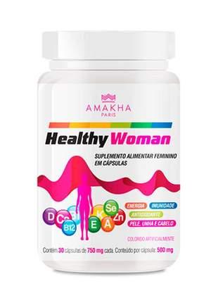 Healthy woman - 30 cápsulas de 500mg amakha paris