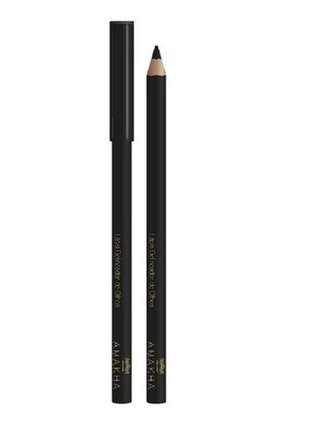 Lápis delineador de olhos - preto 1,1g amakha paris