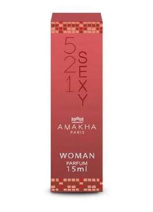 Perfume feminino 521 sexy 15 ml amakha paris - parfum