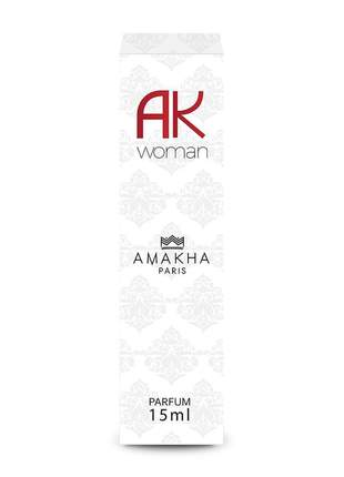 Perfume feminino ak woman 15 ml amakha paris - parfum