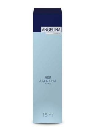 Perfume feminino angelina 15 ml amakha paris - parfum