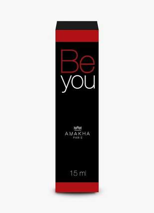 Perfume feminino be you 15 ml amakha paris - parfum