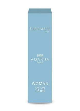 Perfume feminino elegance blue 15 ml amakha paris - parfum