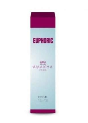 Perfume feminino euphoric 15 ml amakha paris - parfum