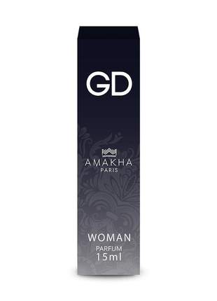 Perfume feminino de bolso gd 15 ml amakha paris - parfum