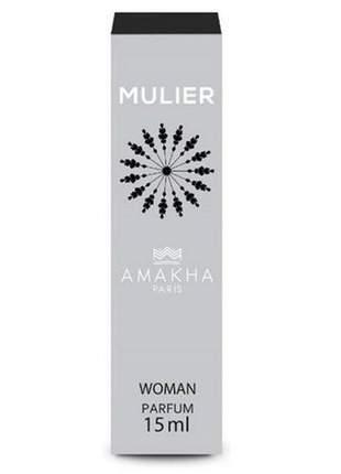 Perfume feminino de bolso mulier 15 ml amakha paris - parfum