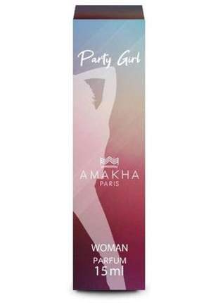 Perfume feminino party girl 15 ml amakha paris - parfum