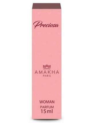 Perfume feminino de bolso preciosa 15 ml amakha paris parfum