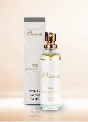 Perfume feminino princess 15 ml amakha paris - parfum