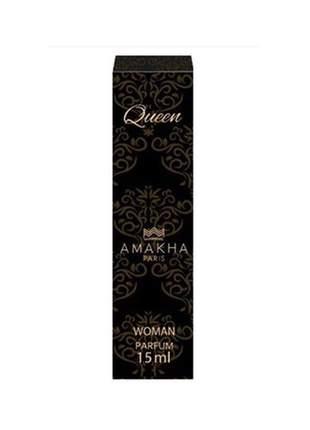 Perfume feminino de bolso queen 15 ml amakha paris - parfum