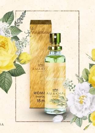 Perfume feminino voluptuous 15 ml amakha paris - parfum